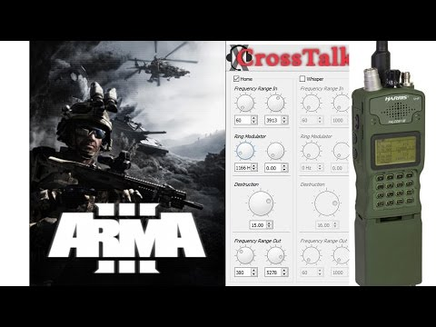 Arma 3 CrossTalk Military Radio Sound Effect Plugin How To And Download - WORKING!