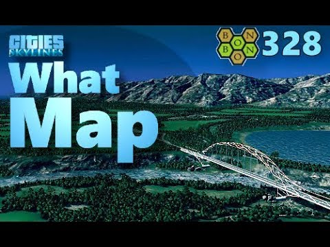Cities Skylines - What Map - Map Review 328 - Lake Quinault