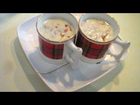 Hot Almond Milk Green Tea