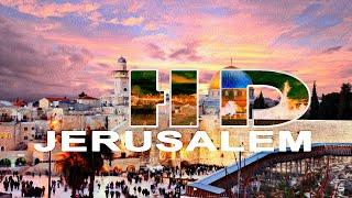 JERUSALEM | THE OLD CITY - A TRAVEL TOUR -  HD 1080P