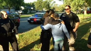 Brooklyn Park police give cancer patient birthday surprise