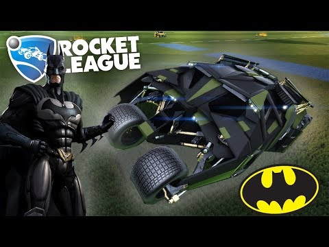 NEW BATMOBILES! | Rocket League