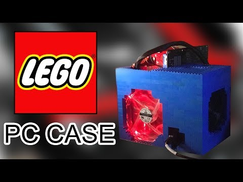 I built a LEGO PC CASE and it cools better than a $200 case!