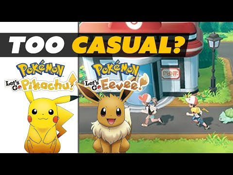 Pokemon Let's Go for Switch is for CASUALS!? - Game News