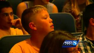Iowan gets surprise he will never forget