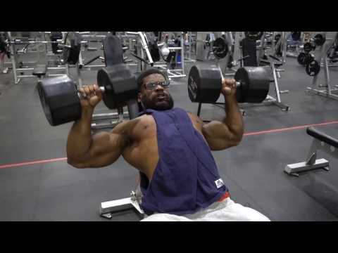 Upper Chest Workout - Donte Franklin
