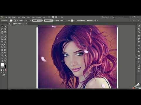 How to Convert a JPEG Image Into a Vector Graphic in Adobe Illustrator CC