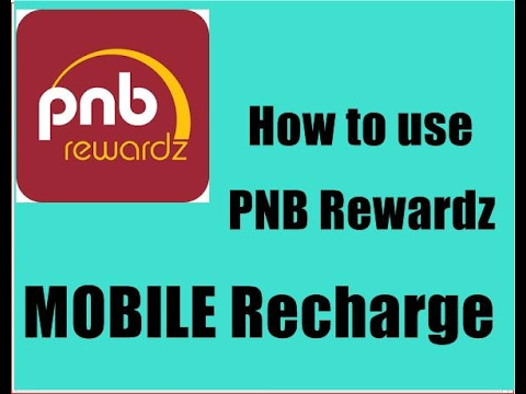 How to use pnb rewardz point for mobile recharge.