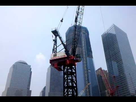 Tower crane at 3 WTC.