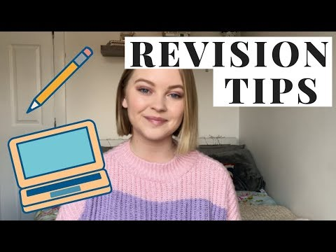 REVISION TIPS: HOW TO REVISE WELL UNI / COLLEGE