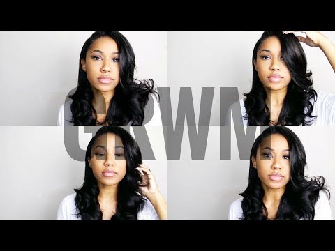 GRWM | Soft Body Curls ft. Longqi Hair