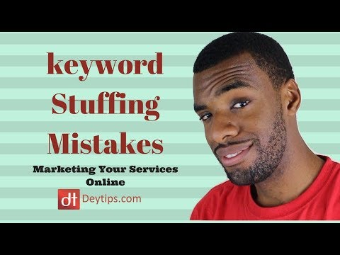 Keyword Stuffing | Keyword Research Tips
