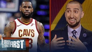 Nick Wright reveals his theory on LeBron