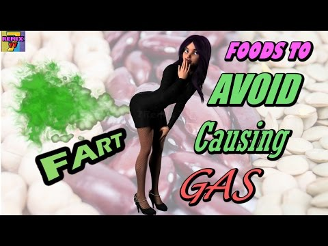 Foods that Make You Fart! | Avoid these Foods that cause gas (Flatulence)