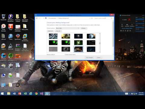 How to Change Desktop Background on Windows 8.1