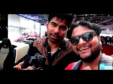 AUTO EXPO 2018 With GAURAVZONE | CONCEPT CARS | BIKES | BEAUTY |