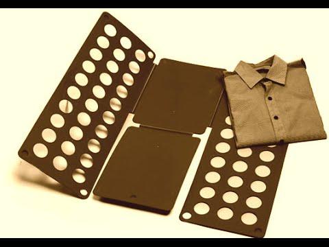 HOW TO MAKE A T-shirt folding Machine / TUTORIAL