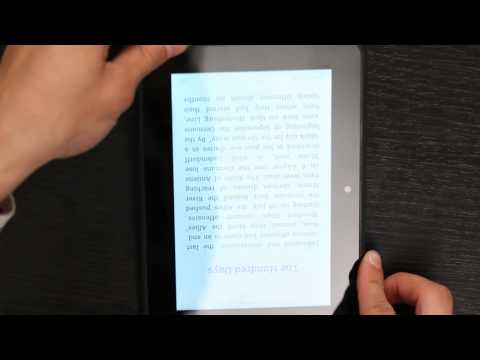 How to Turn Text Right-Side-Up on a Kindle : Kindle Questions & Answers