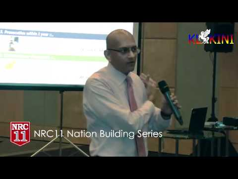NRC11 Nation Building Series, Corruption in Malaysia, How do we Move Forward? PART 1