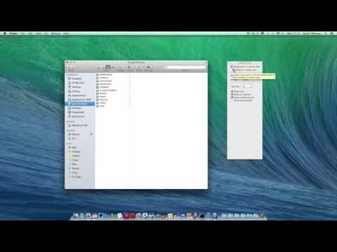 Customise Finder on your Mac in OS X Mavericks