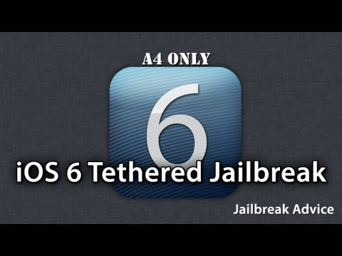 How To Jailbreak iOS 6 On A4 Devices And Below - Install Cydia - Tethered Jailbreak