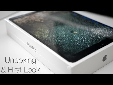 iPad Pro 10.5 inch - Unboxing and First Look (4K 60P)