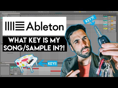 How To Find The Key Of A Song In Ableton