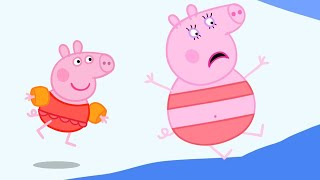Peppa Pig English Episodes | Healthy Habits - Swimming with Peppa Pig 🏊♂️ Peppa Pig Official