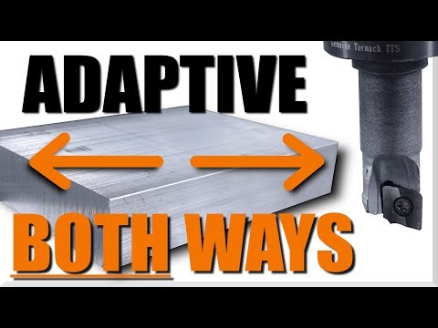 How to Use Both Ways Adaptive Feature in Fusion 360!  WW197
