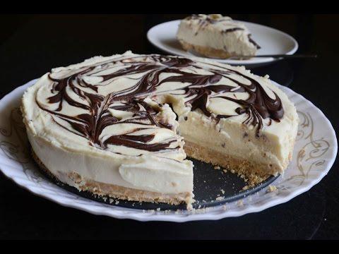 No Bake White Chocolate Cheese Cake Recipe