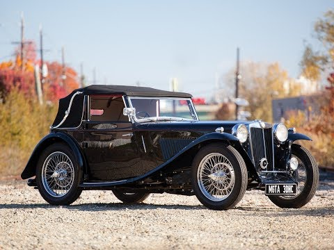 1938 MG TA Drophead Coupe by Tickford