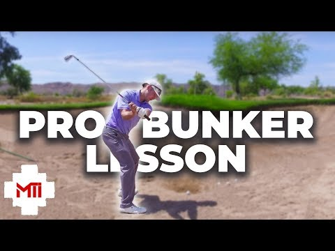Bunker Lesson With Pro Golfer Conrad Isely