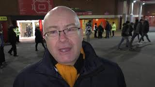 Manchester United 1 Wolves 0 - Wolves fans frustrated after FA Cup exit