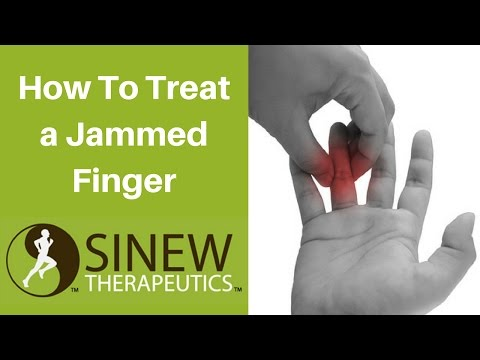 How To Treat a Jammed Finger and Speed Recovery
