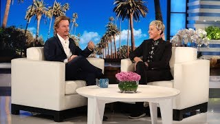 David Spade Helped Brad Pitt Bid on a