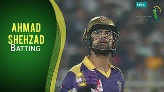 PSL 2017 Play-off 1: Peshawar Zalmi vs Quetta Gladiators - Ahmed Shehzad Batting