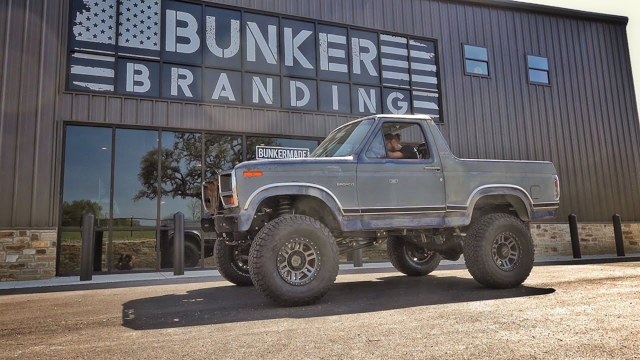 I DROVE THE BRONCO!!! The day is finally here!!!