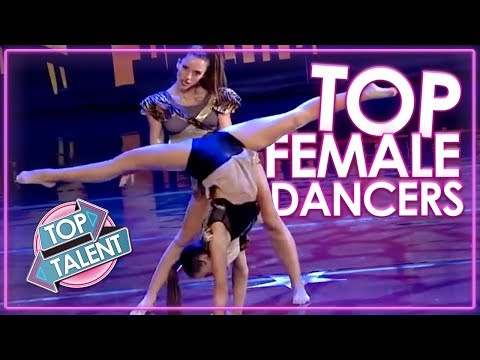 BEST FEMALE DANCERS EVER! Top Auditions From America's Got Talent, Britain's Got Talent & More!
