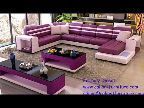 CALIANT Modern Leather Sofa Furniture Factory Direct from China
