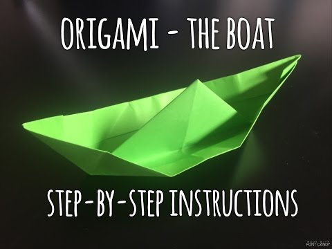 How to Make Origami Paper Boat (step-by-step instructions)