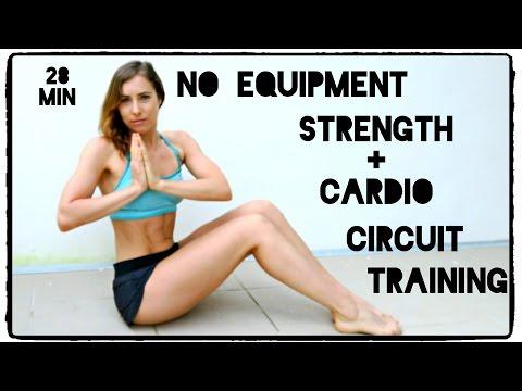 Full Body Strength & Cardio Circuit - No Equipment