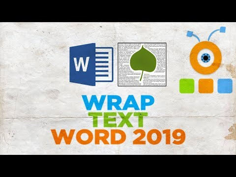 How to Make Text Wrap Around Picture in Word 2019   How to Wrap Text in Word 2019