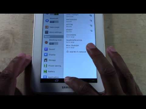 Galaxy Tab 2 7.0 - How to Take a Screenshot (Updated)​​​ | H2TechVideos​​​