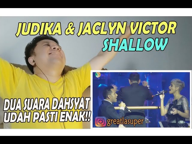 Download Judika & Jaclyn Victor ❗ SHALLOW ❗ REACTION! MP3 Gratis