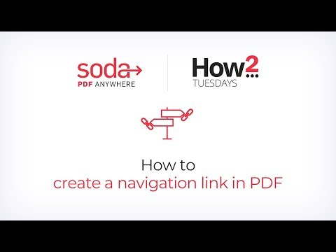 How to Create a Navigation Link in a PDF