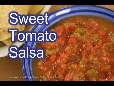 How To Make Salsa | Sweet Tomato Salsa Recipe | Rockin Robin Cooks