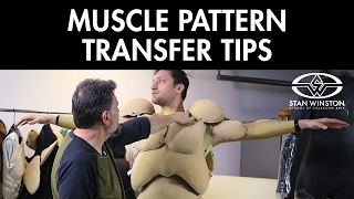 Muscle Suit Fabrication: Muscle Pattern Transfer Tips - FREE CHAPTER