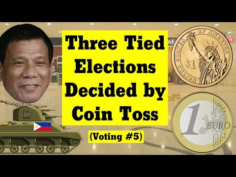 Three Tied Elections Decided by Coin Toss (Voting #5)