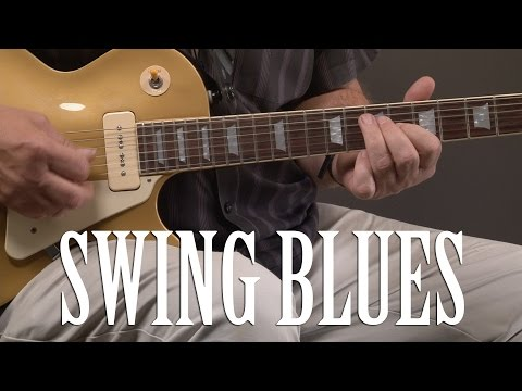Blues Guitar Swing Lick