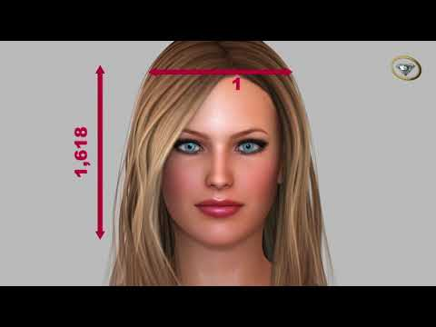 !!AMAZING SCIENCE! The Golden Ratio of The Human Face 3